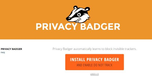 Privacy Badger 600x300