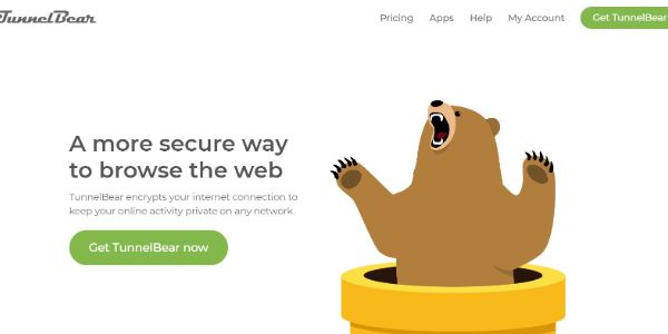 TunnelBear Best VPNs 600x300