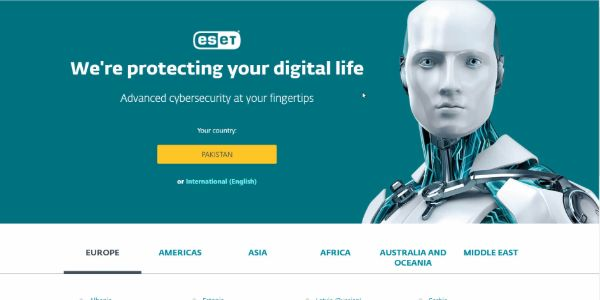 ESET for removing spyware