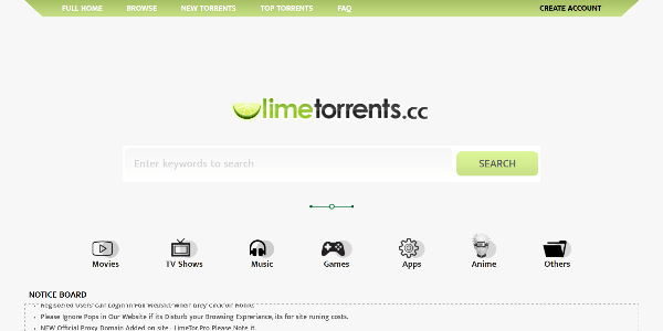LimeTorrents - Download Verified Torrents