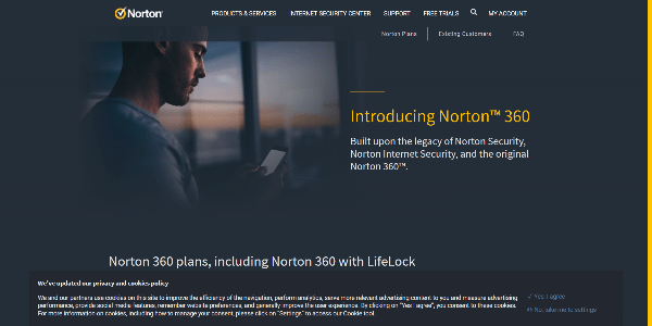Norton 360 Antivirus Protection