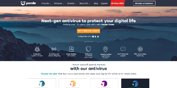 The next-gen antivirus for all your devices - Panda Security