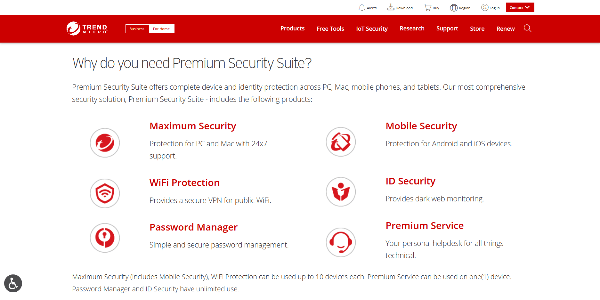 TrendMicro Premium Security Suite