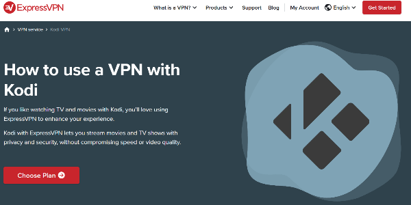 Best VPN for Kodi ExpressVPN