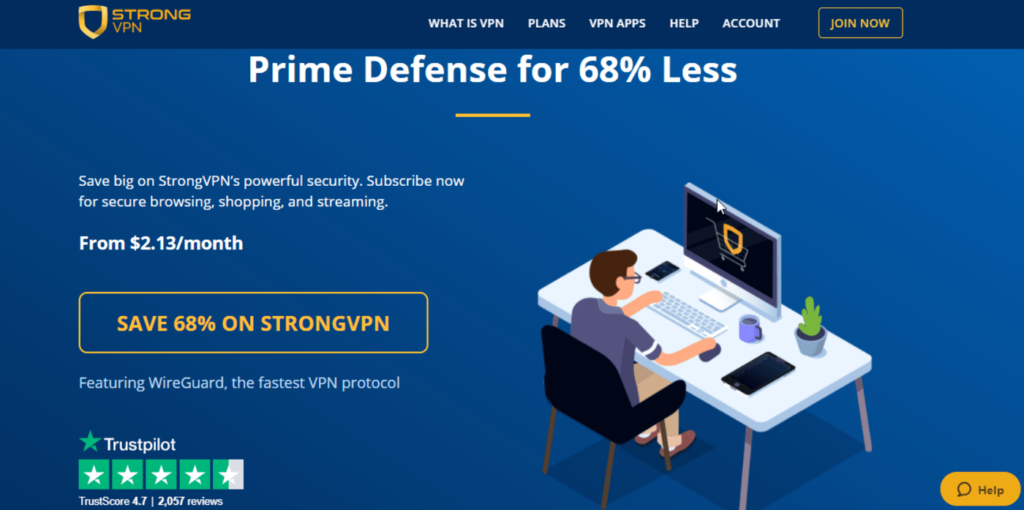 StrongVPN featured image